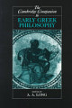 The Cambridge Companion to Early Greek Philosophy
