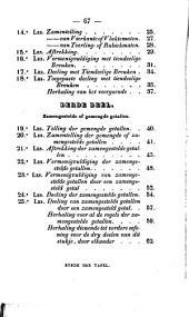 Rekenboek of Verzamening van voorstellen