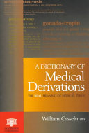 Dictionary of Medical Derivations