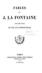 Fables de J. La Fontaine