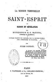 La Mission temporelle du Saint-Esprit, ou Raison et révélation