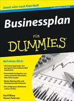 Businessplan f  r Dummies PDF
