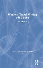 Womens Travel Writing 1750-1850