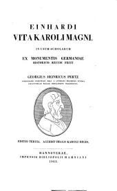 Einhardi Vita Karoli Magni
