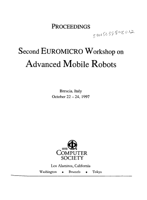 Second Euromicro Workshop on Advanced Mobile Robots PDF