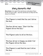 The Pigeon Books Studying the Story Elements