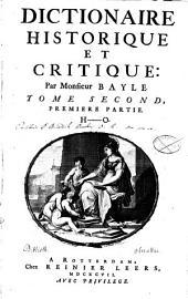Dictionnaire Historique Et Critique: H - O. 2,1