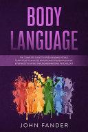 Body Language Book PDF