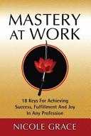 Mastery At Work Book PDF