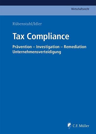 R  benstahl Idler  Tax Compliance PDF