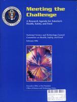 Meeting the Challenge PDF