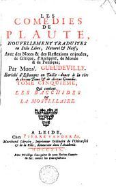 Les comédies de Plaute: Les Bacchides & La Mostellaire