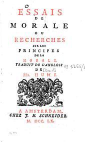 Oeuvres philosophiques de D. Hume: Volume5