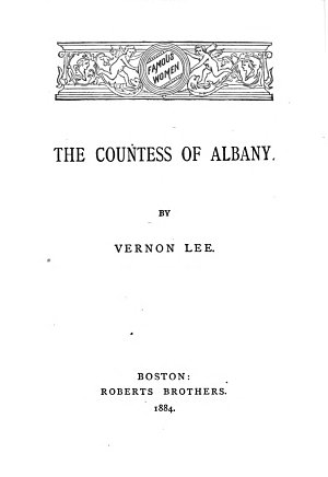 The Countess of Albany PDF