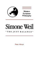 Simone Weil   The Just Balance  PDF