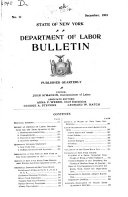 Download Special Bulletins   State of New York  Department of Labor Book