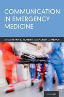 Communication in Emergency Medicine PDF