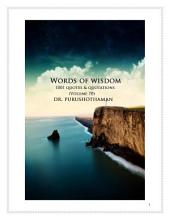 Words of Wisdom (Volume 70): 1001 Quotes & Quotations