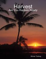 Harvest  Are You Rapture Ready PDF