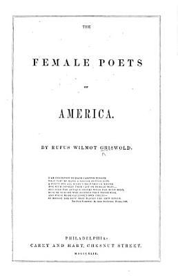 The Female Poets of America PDF