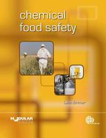 Chemical Food Safety PDF