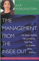 Time Management From The Inside Out Book PDF