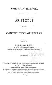 Athēnaiōn politeia: Aristotle on the constitution of Athens