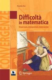 Difficoltà in matematica: Osservare, interpretare, intervenire
