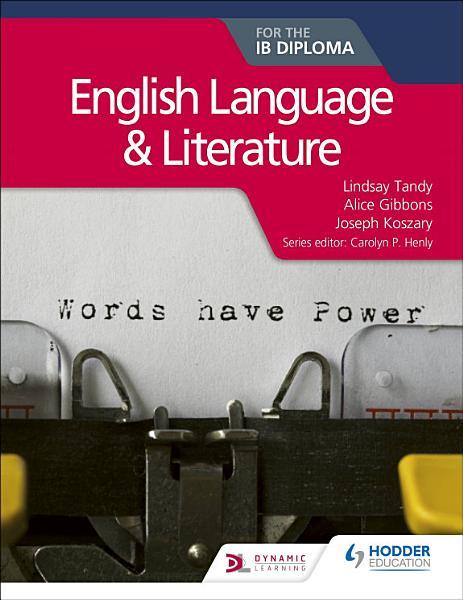 English Language and Literature for the IB Diploma PDF