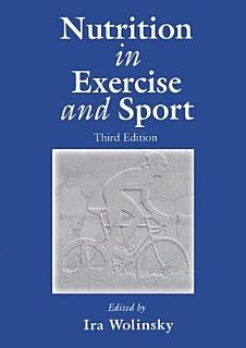 Nutrition in Exercise and Sport  Third Edition Book