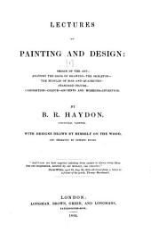 Lectures on Painting and Design ...