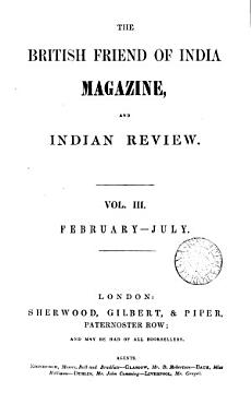 The British Friend of India Magazine  and Indian Review PDF