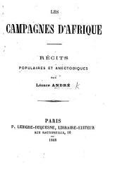 Les Campagnes d'Afrique. Récits populaires et anecdotiques