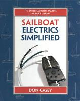 Sailboat Electrical Systems  Improvement  Wiring  and Repair PDF
