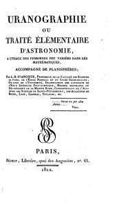 Uranographie ou traite elementaire d'astronomie, accompagne de planispheres