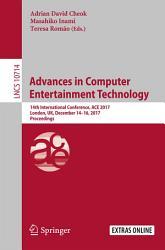 Advances in Computer Entertainment Technology PDF