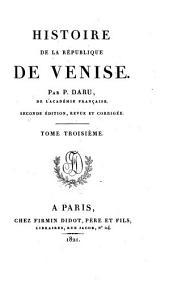 Histoire de la république de Venise: Volume3