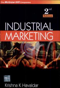 Industrial Marketing Book