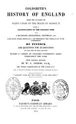 Goldsmith s History of England from the Invasion of Julius Caesar to the Death of George II PDF