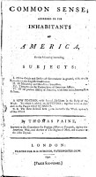 Common Sense  Addressed to the Inhabitants of America  on the Following Interesting Subjects  1  Of the Origin and Design of Government in General     By Thomas Paine    PDF