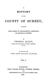 A history of the county of Surrey