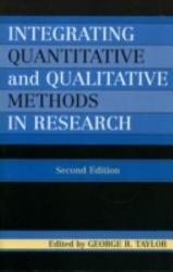 Integrating Quantitative And Qualitative Methods In Research Book PDF