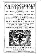 Il cannocchiale aristotelico, o' sia, idea dell'arguta et ingeniosa elocutione, che serue a tutta l'arte oratoria, lapidaria, et simbolica. Esaminata co' principii del diuino Aristotele, dal conte D. Emanuele Tesauro, ...