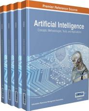 Artificial Intelligence  Concepts  Methodologies  Tools  and Applications PDF