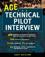 Ace the Technical Pilot Interview PDF