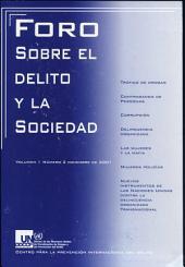 Foro Sobre El Delito Y la Sociedad: Diciembre 2001