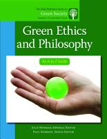Green Ethics and Philosophy PDF
