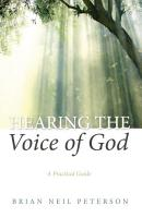 Hearing the Voice of God PDF