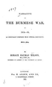Narrative of the Burmeses War, in 1824-25