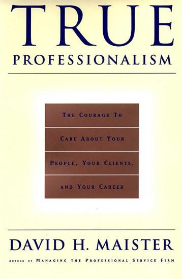 True Professionalism PDF